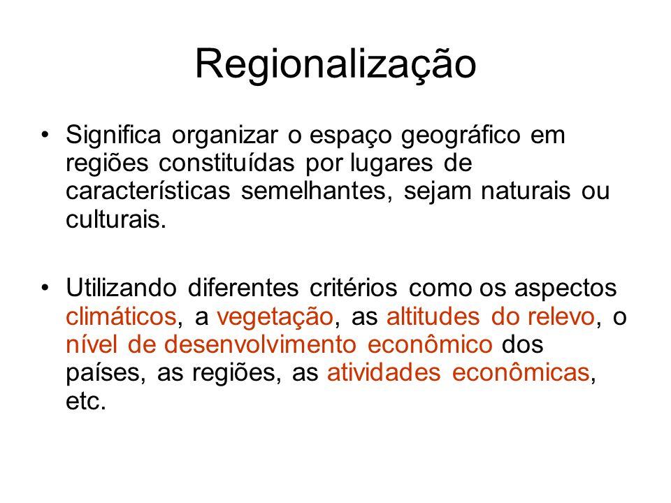 Regionalização