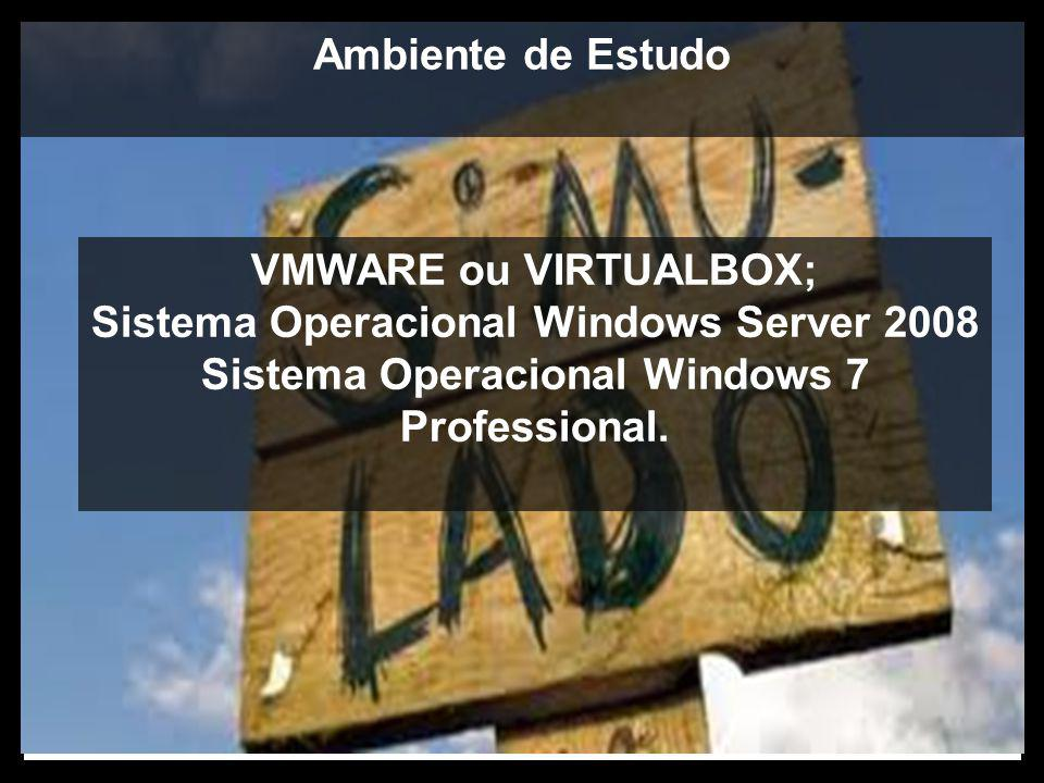 Sistema Operacional Windows Server 2008