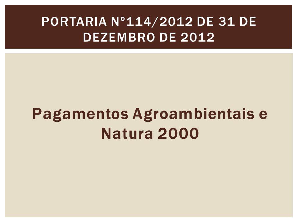 Portaria nº114/2012 de 31 de Dezembro de 2012