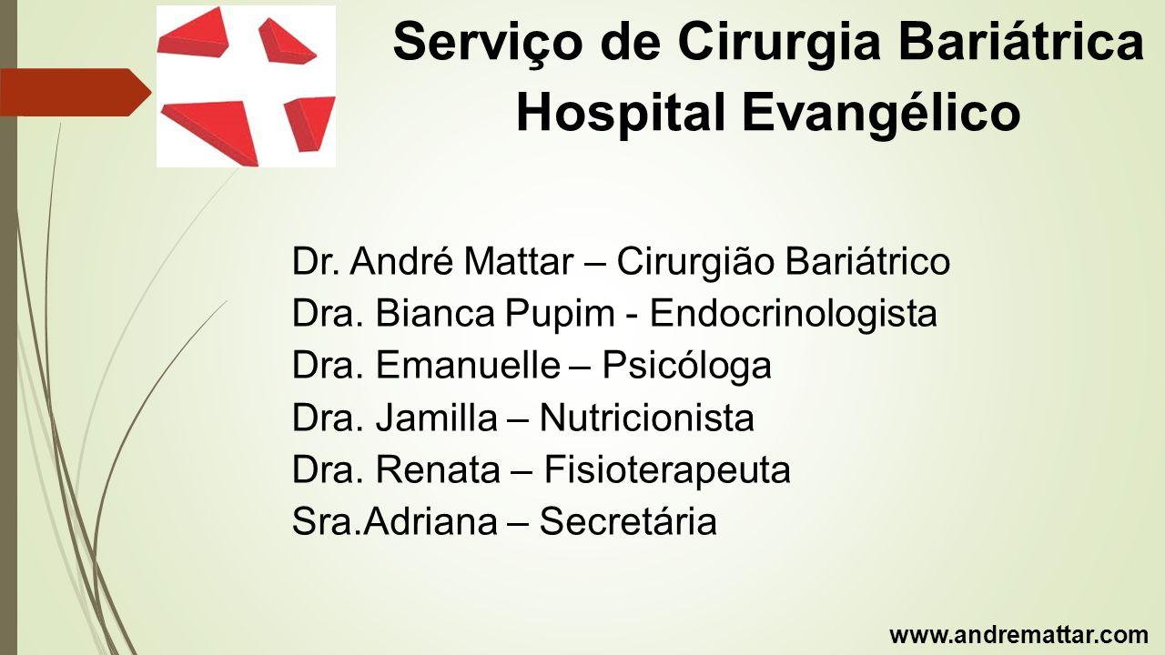 Serviço de Cirurgia Bariátrica Hospital Evangélico