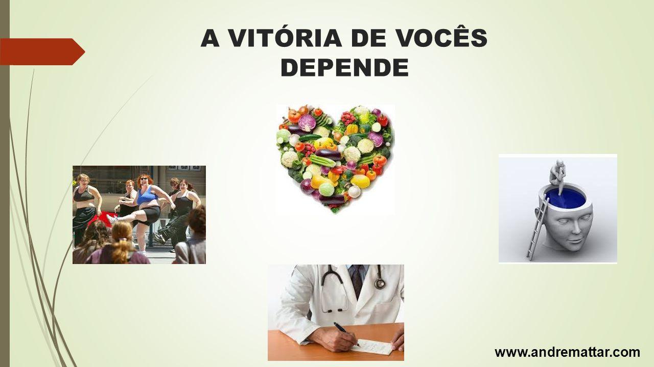 A VITÓRIA DE VOCÊS DEPENDE