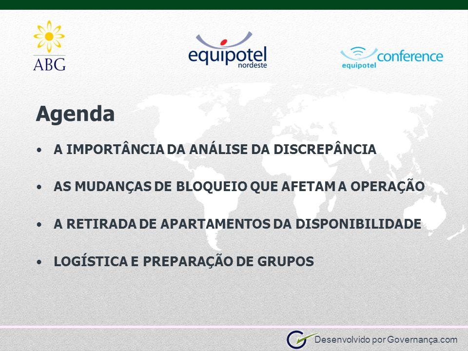 Agenda A IMPORTÂNCIA DA ANÁLISE DA DISCREPÂNCIA
