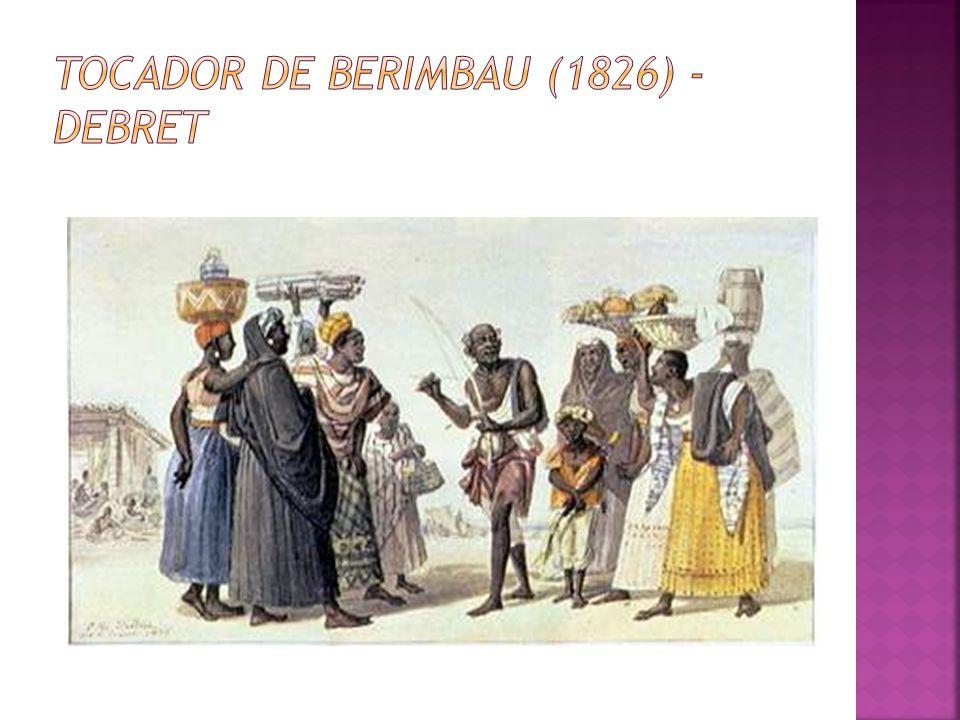 Tocador de Berimbau (1826) - Debret