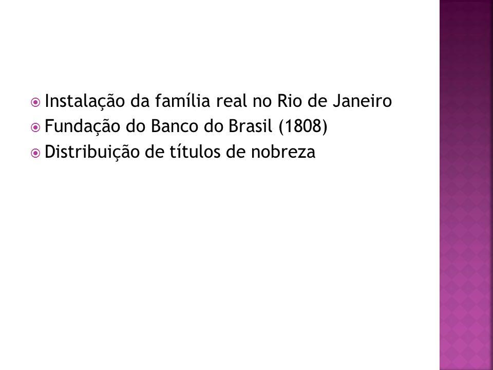 Instalação da família real no Rio de Janeiro