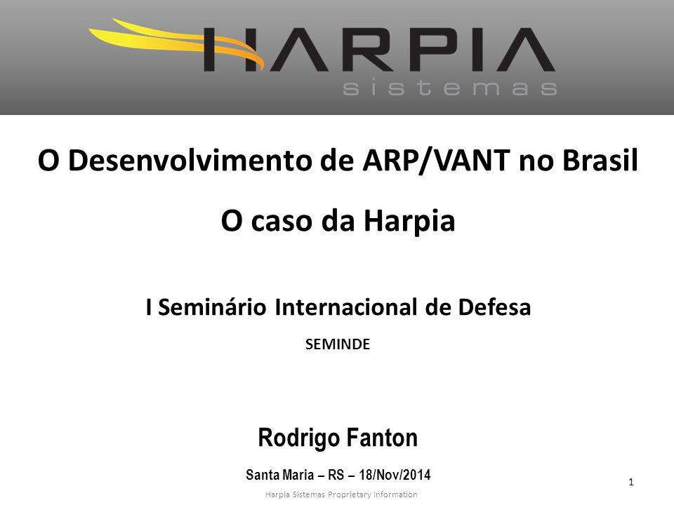 O Desenvolvimento de ARP/VANT no Brasil O caso da Harpia