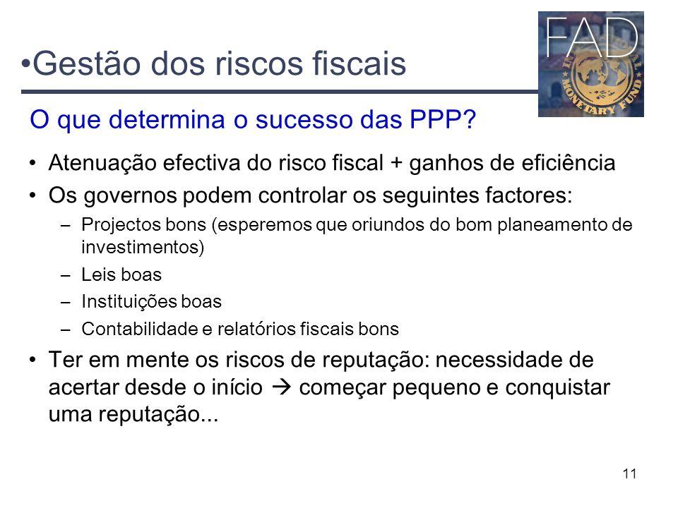 Gestão dos riscos fiscais