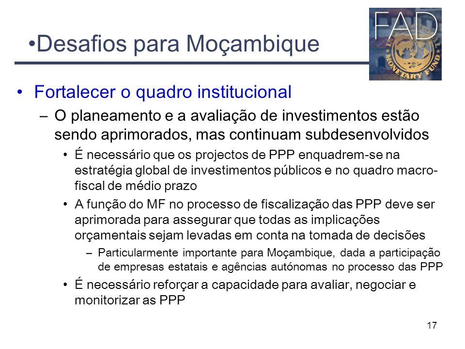 Desafios para Moçambique