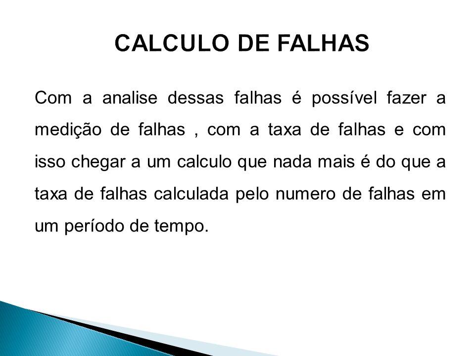 CALCULO DE FALHAS