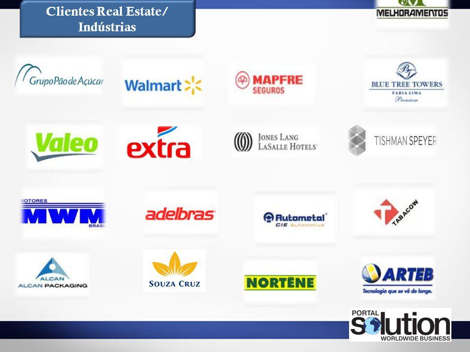 Clientes Real Estate/ Indústrias
