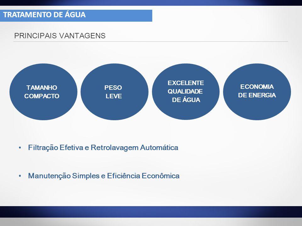 TRATAMENTO DE ÁGUA PRINCIPAIS VANTAGENS