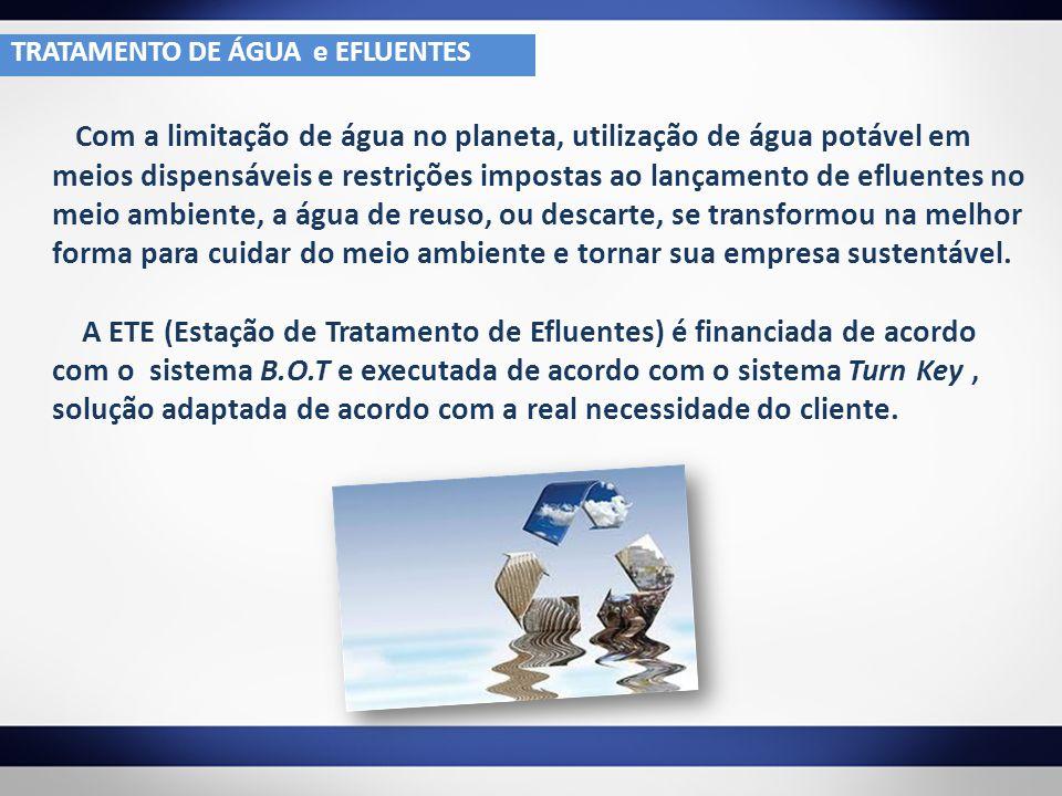 TRATAMENTO DE ÁGUA e EFLUENTES