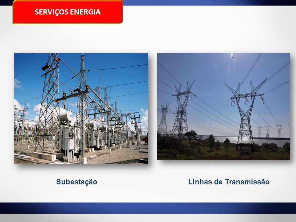SERVIÇOS ENERGIA Subestação Linhas de Transmissão