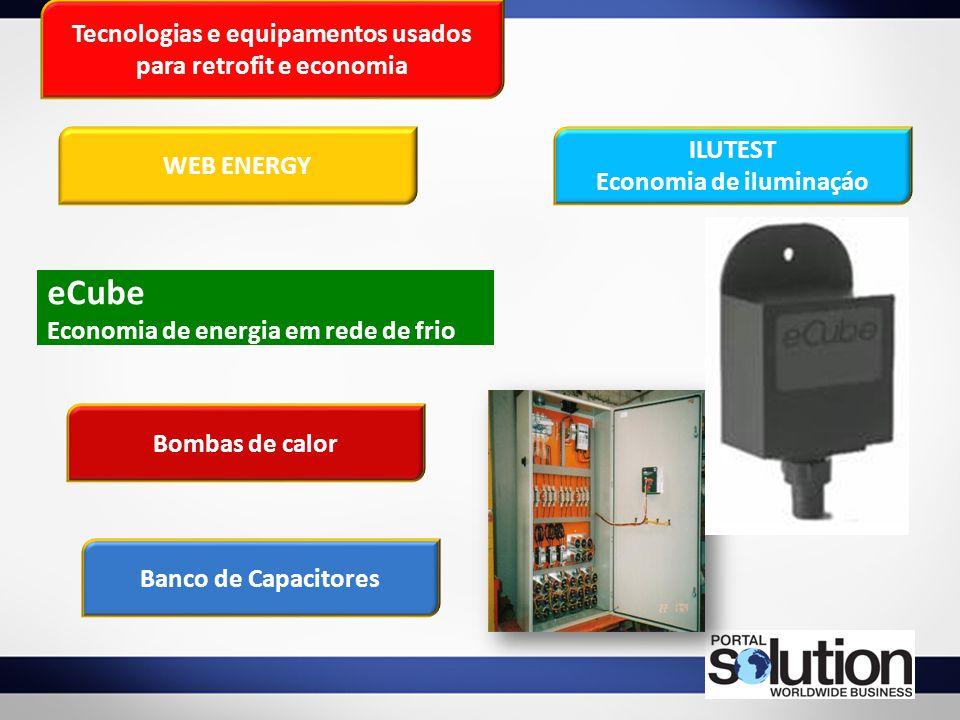 eCube Tecnologias e equipamentos usados para retrofit e economia