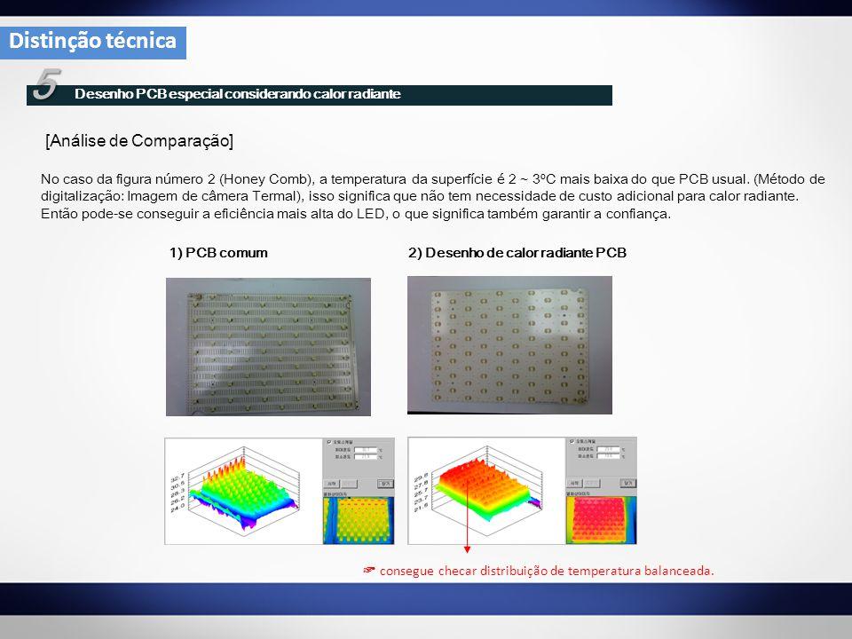 5 Desenho PCB especial considerando calor radiante