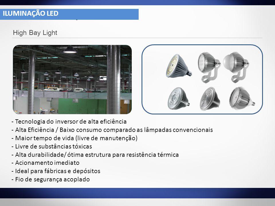 ILUMINAÇÃO LED ILUMINAÇÃO LED High Bay Light