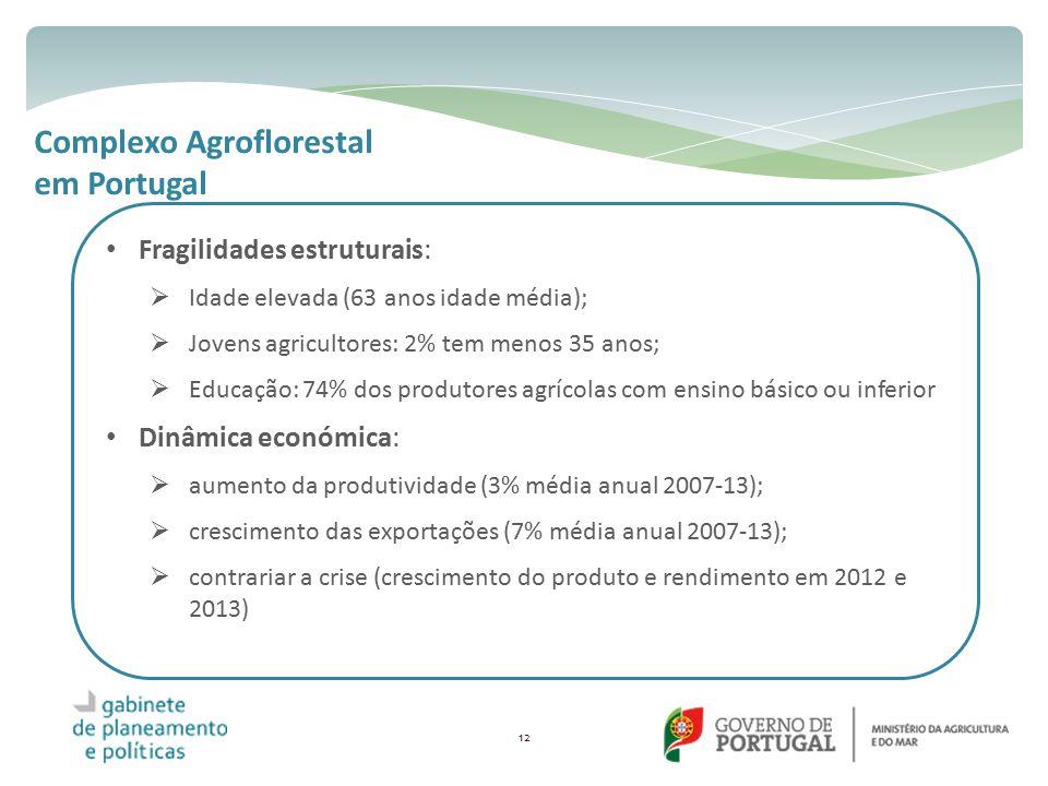 Complexo Agroflorestal em Portugal