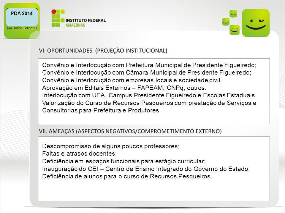 Convênio e Interlocução com Câmara Municipal de Presidente Figueiredo;