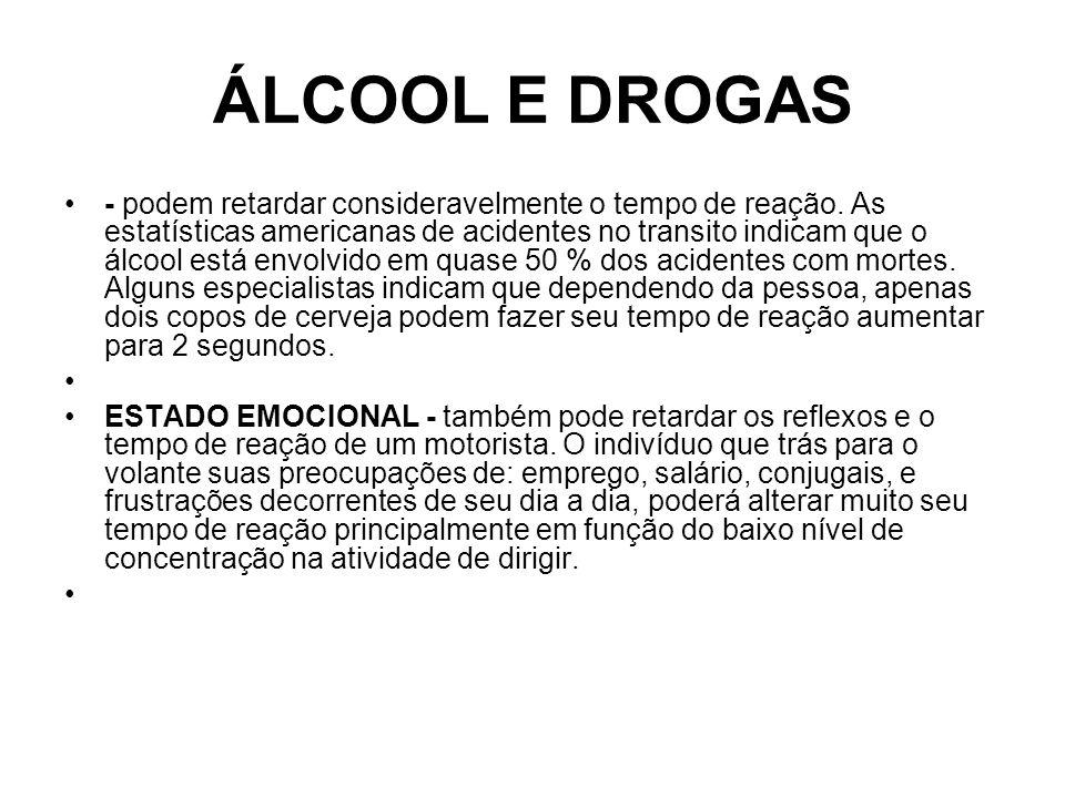 ÁLCOOL E DROGAS