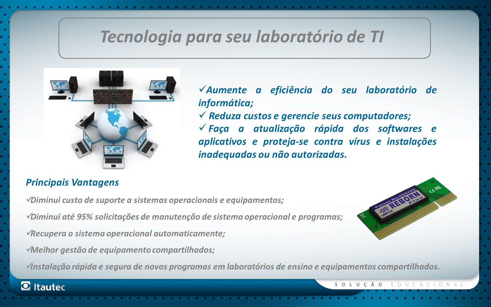 Tecnologia para seu laboratório de TI