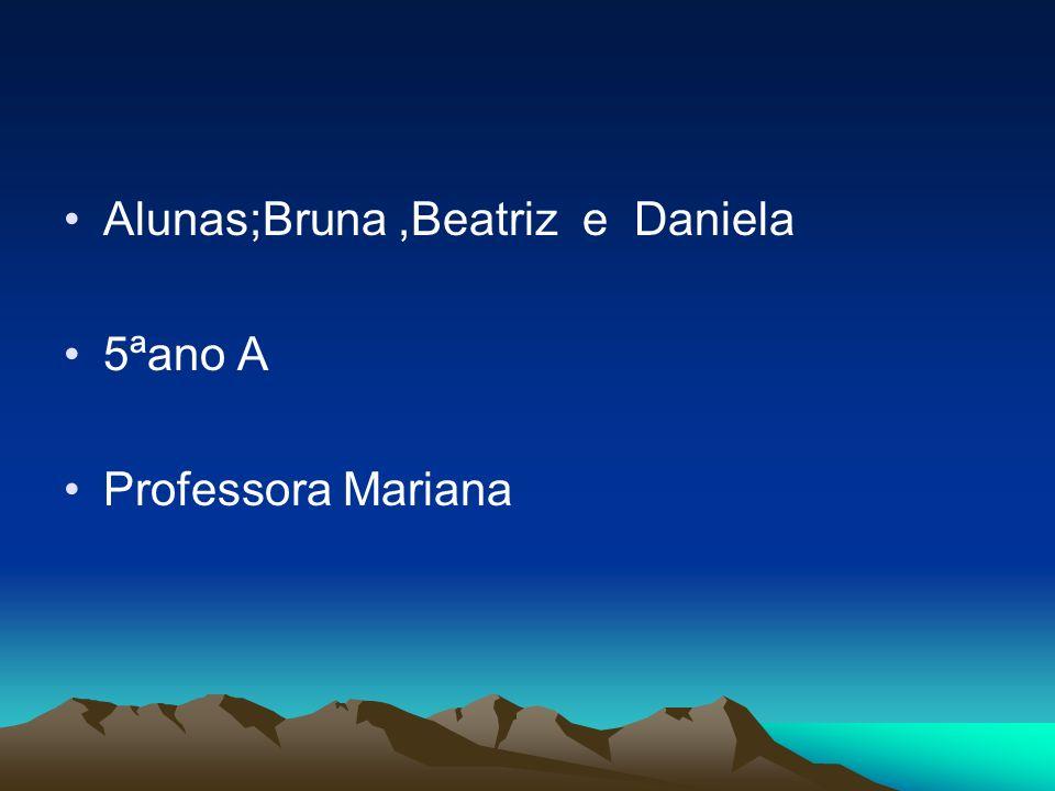 Alunas;Bruna ,Beatriz e Daniela