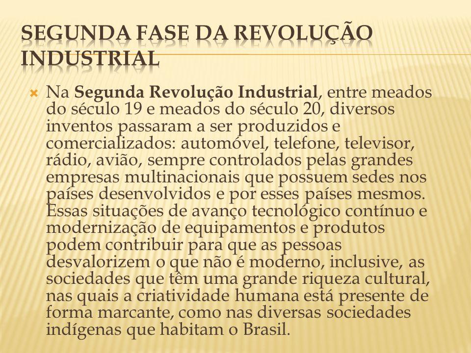 Segunda fase da revolução Industrial