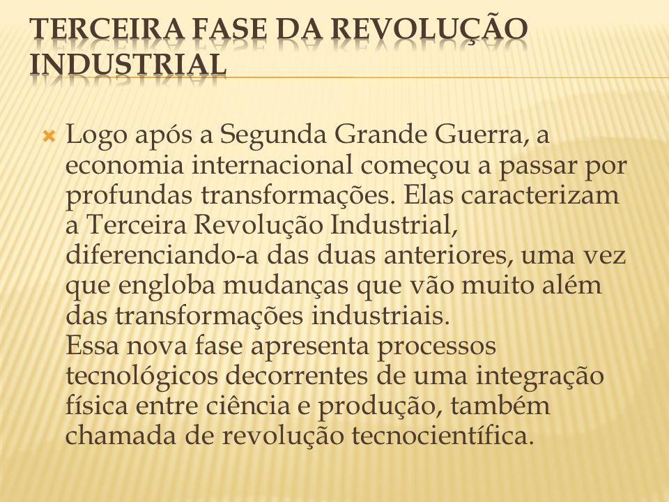 Terceira fase da revolução Industrial