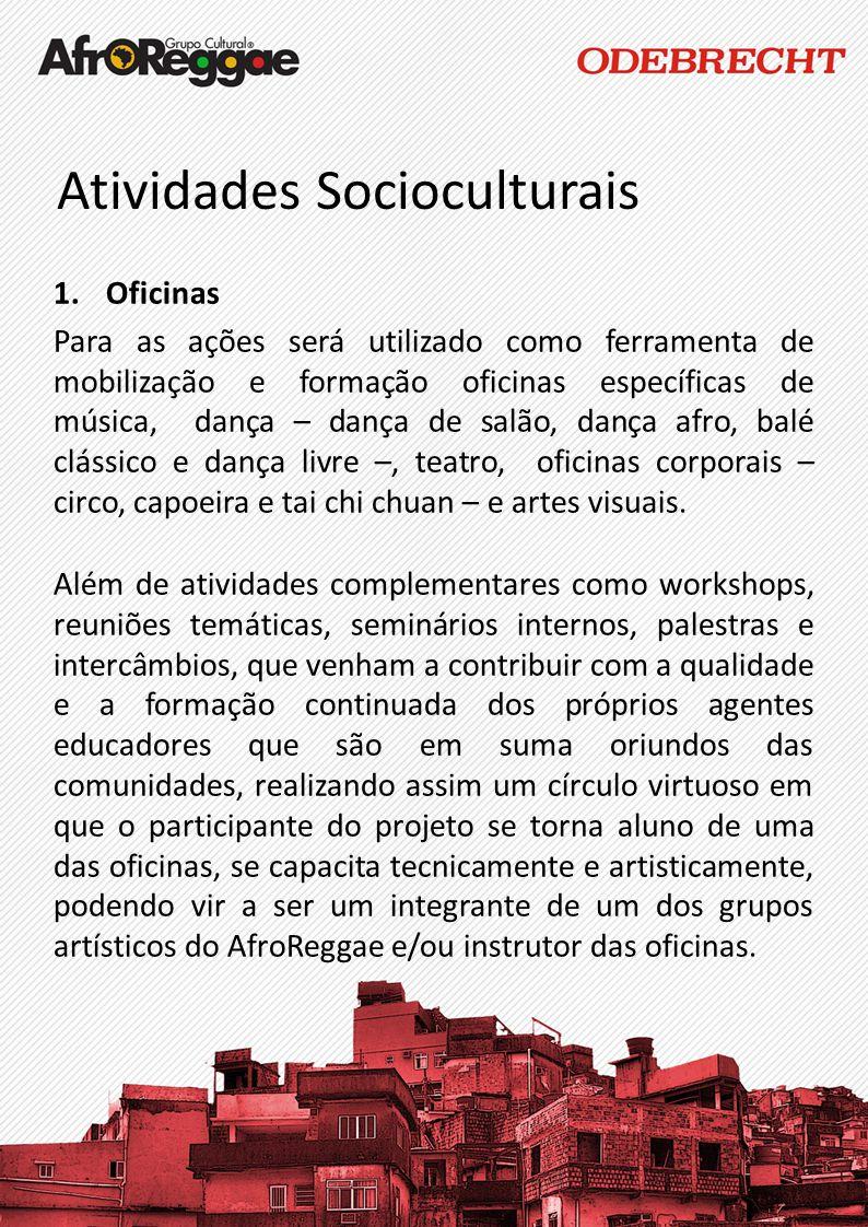Atividades Socioculturais
