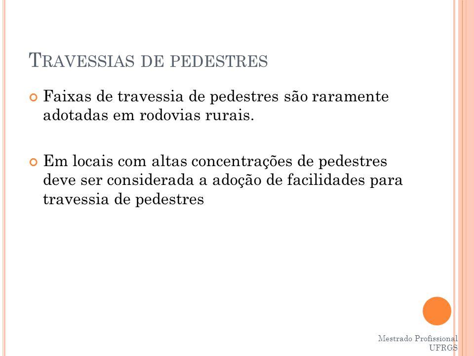 Travessias de pedestres