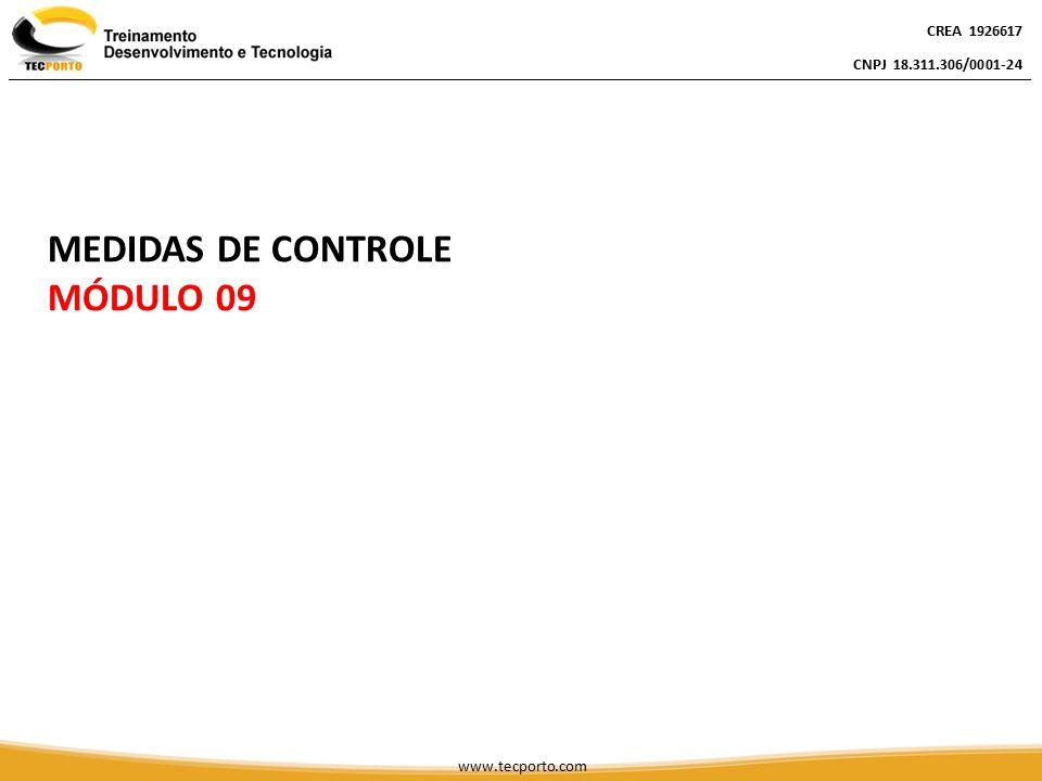 MEDIDAS DE CONTROLE MÓDULO 09 CREA 1926617 CNPJ 18.311.306/0001-24