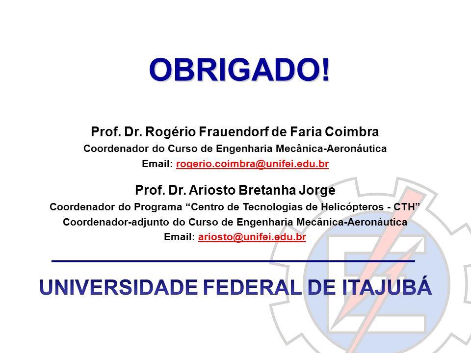 OBRIGADO! UNIVERSIDADE FEDERAL DE ITAJUBÁ