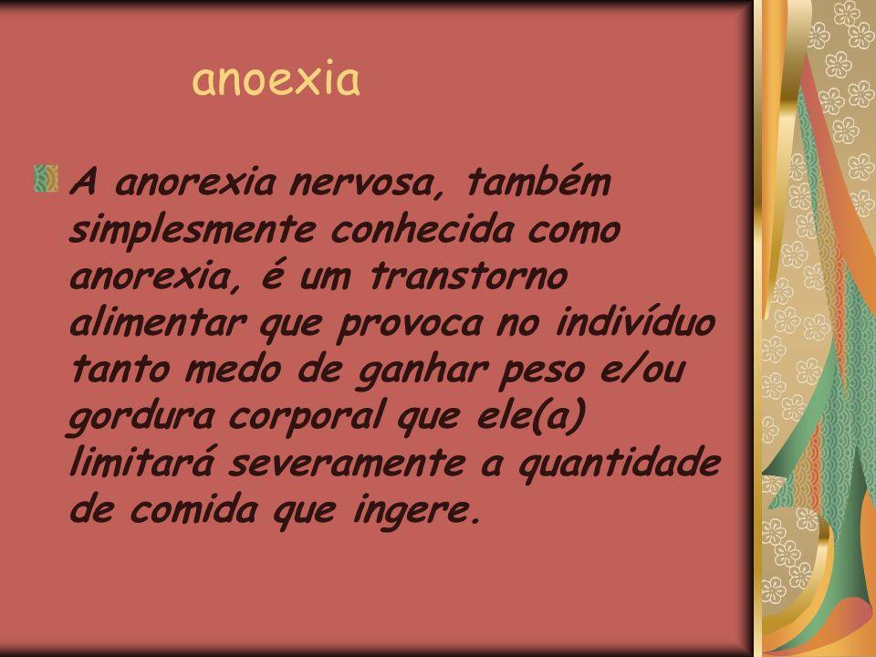 anoexia