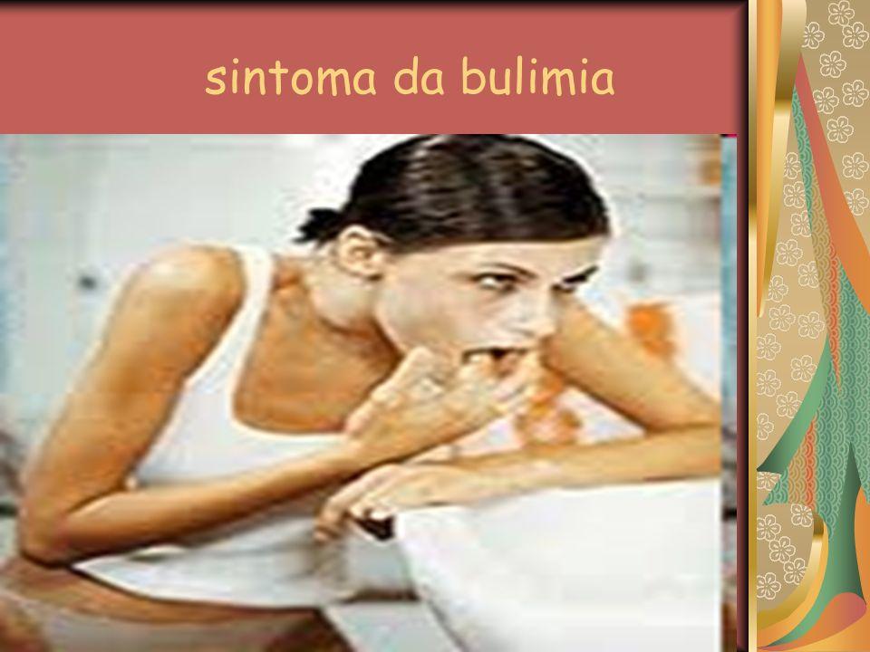 sintoma da bulimia