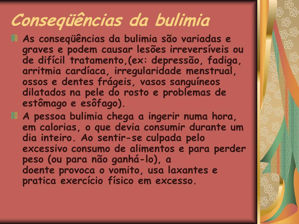 Conseqüências da bulimia