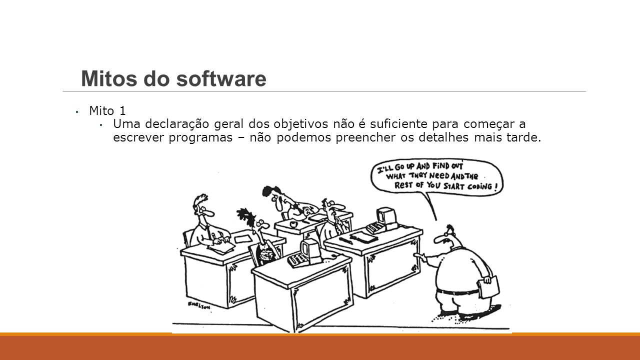 Mitos do software Mito 1.
