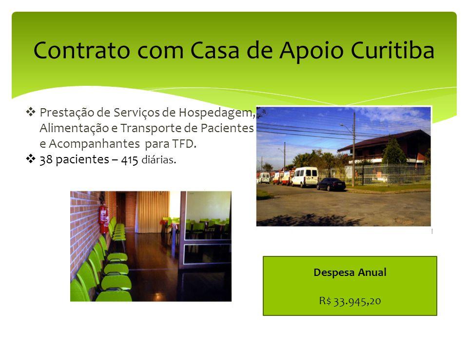 Contrato com Casa de Apoio Curitiba