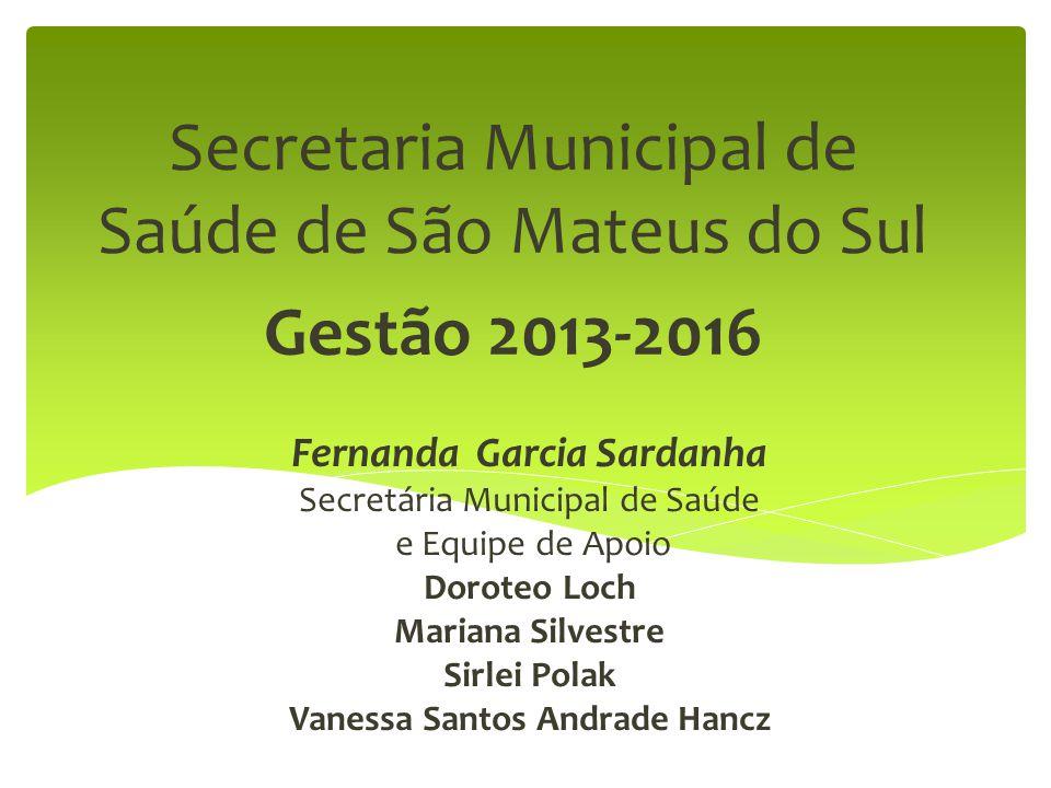 Secretaria Municipal de Saúde de São Mateus do Sul