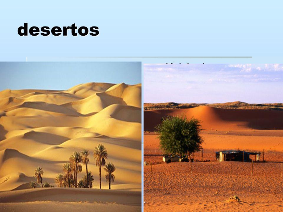 desertos Saara Kalahari