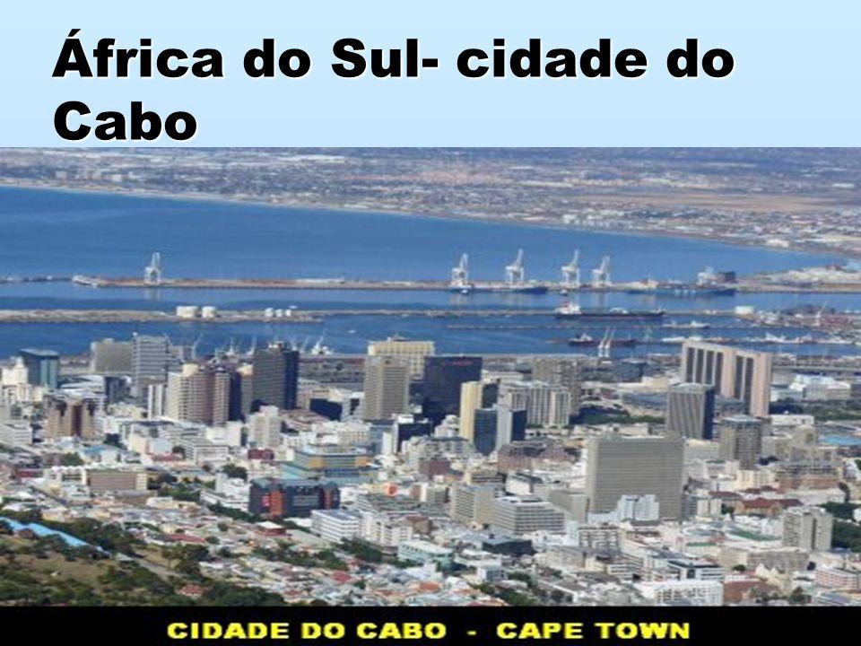 África do Sul- cidade do Cabo