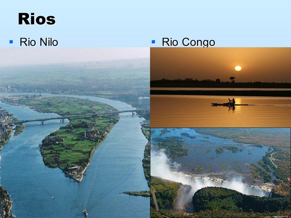 Rios Rio Nilo Rio Congo