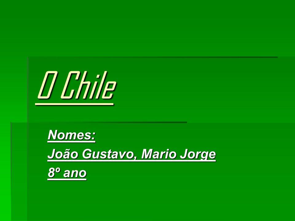 Nomes: João Gustavo, Mario Jorge 8º ano
