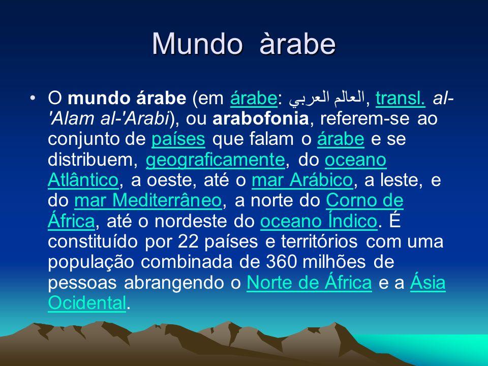 Mundo àrabe
