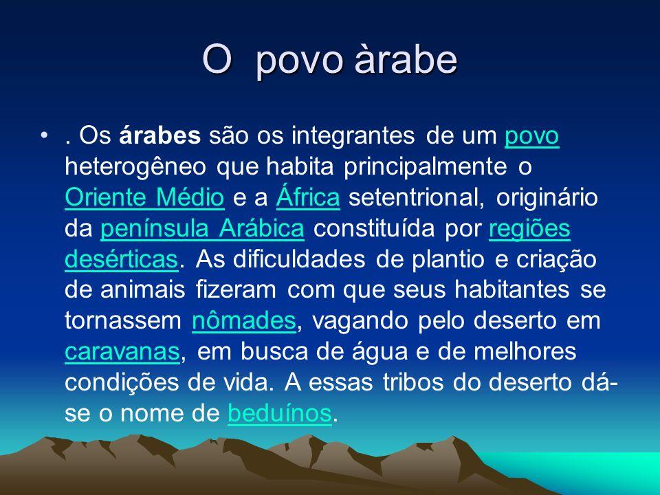 O povo àrabe