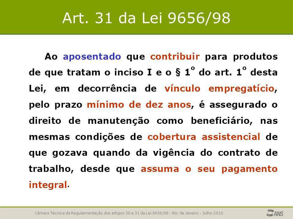 Art. 31 da Lei 9656/98