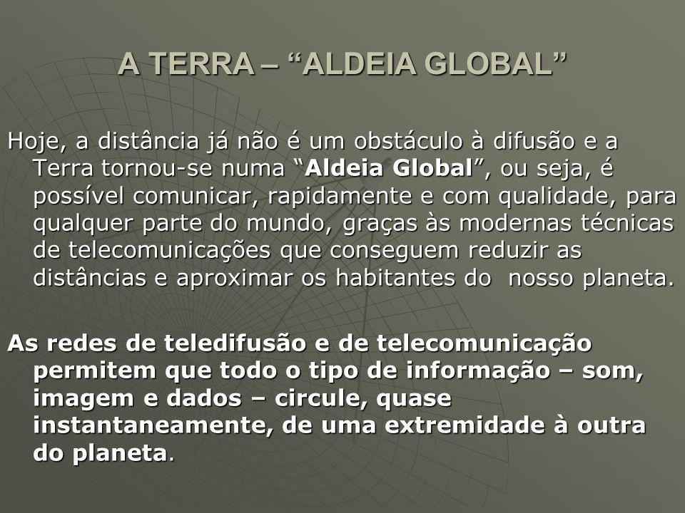 A TERRA – ALDEIA GLOBAL