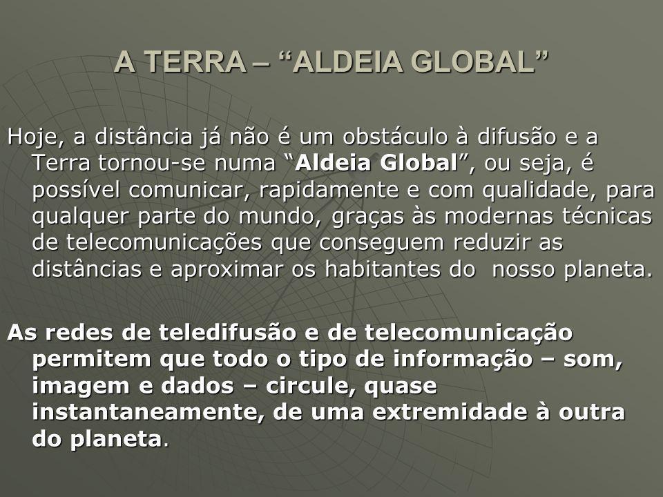 A TERRA – ALDEIA GLOBAL