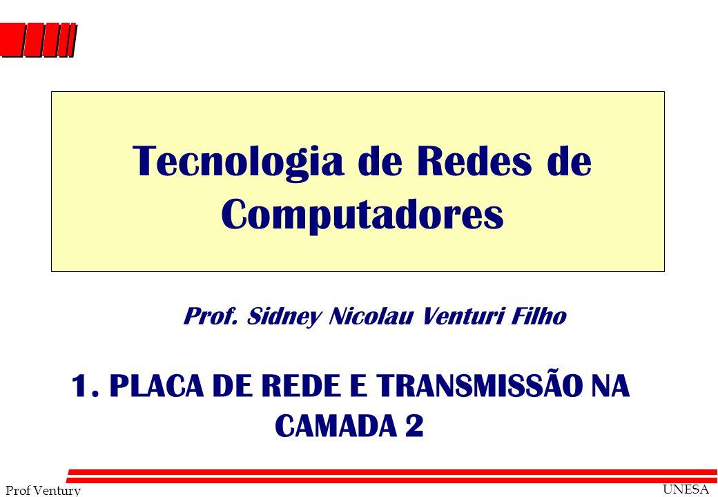 1. PLACA DE REDE E TRANSMISSÃO NA CAMADA 2