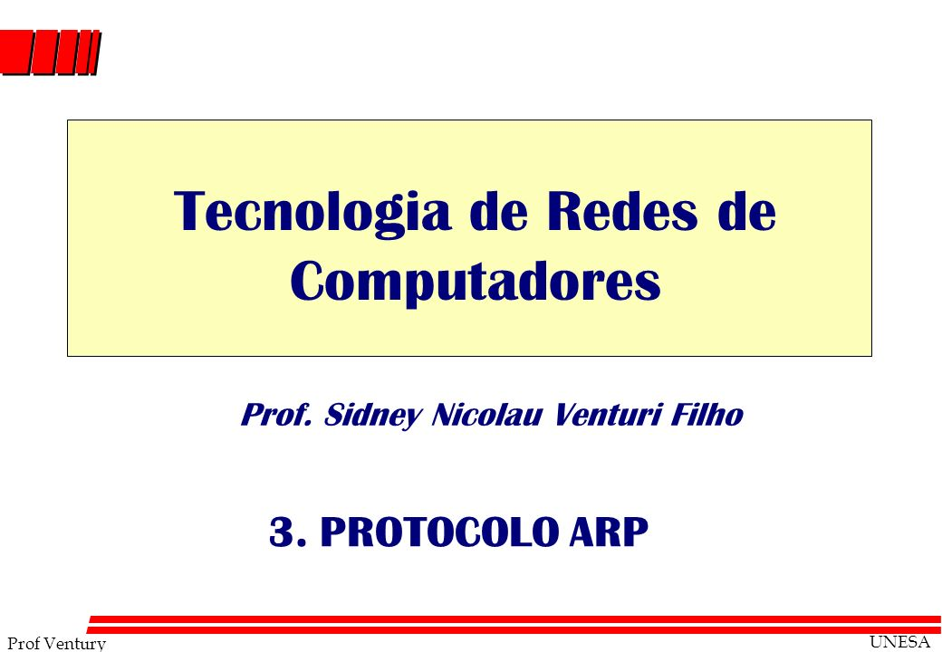 Prof. Sidney Nicolau Venturi Filho