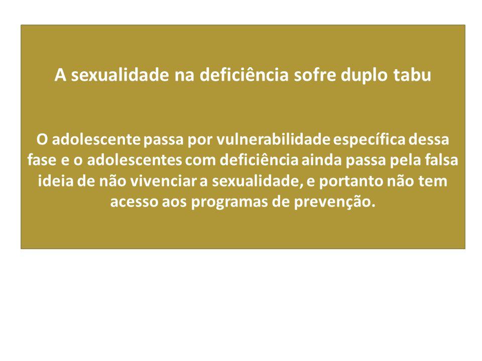 A sexualidade na deficiência sofre duplo tabu