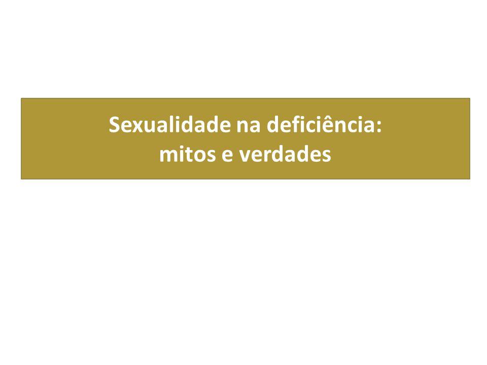 Sexualidade na deficiência: