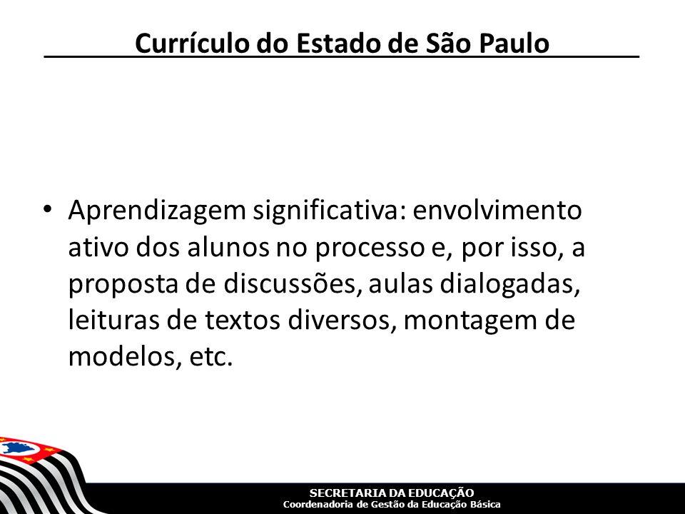 Currículo do Estado de São Paulo